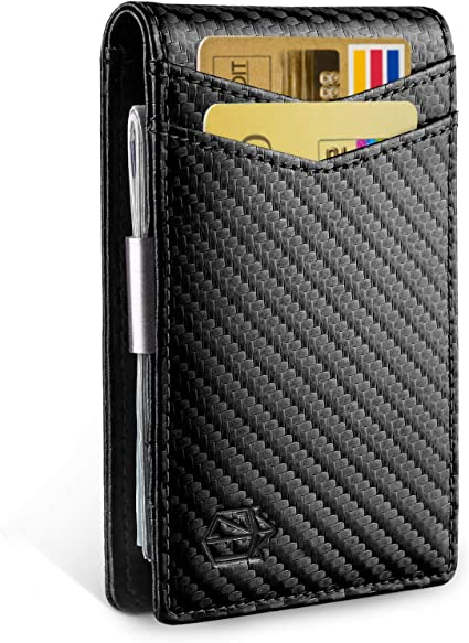 SHARP Money Manager Minimalist Mens Wallet SIVEL Gold Stainless Steel Money Clip
