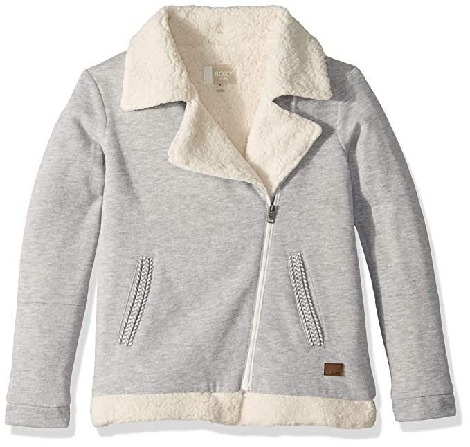 Amazon.com: Roxy - Chaqueta de forro polar para niña con ...