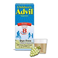 Children's Advil Liquid Pain Relief Medicine and Fever Reducer, 100 Mg Children's Ibuprofen for Ages 2-11, White Grape - 4 Fl Oz