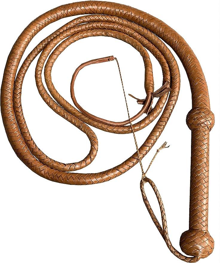 esnado Cordon en cuir rond 2 mm Marron vieilli 5 m/ètres Marron//style antique