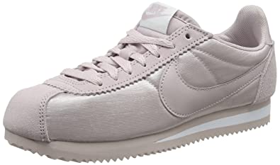 new product d01ca 348c8 Nike Women s WMNS Classic Cortez Nylon Training Shoes, Pink Particle Rose-White  607,
