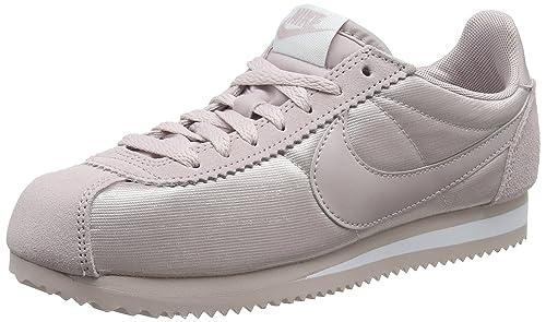 new style 5d964 d6e39 Nike Wmns Classic Cortez Nylon, Scarpe Running Donna, Rosa Particle  Rose-White 607