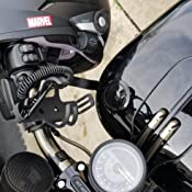 Amazon.com: V-Twin cromado sobre negro – Cup Holder ...