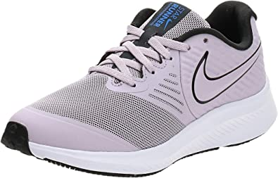 Nike Star Runner 2 (GS), Zapatillas para Correr Unisex Niños, Ice Lilac Off Noir Soar White, 35.5 EU: Amazon.es: Zapatos y complementos