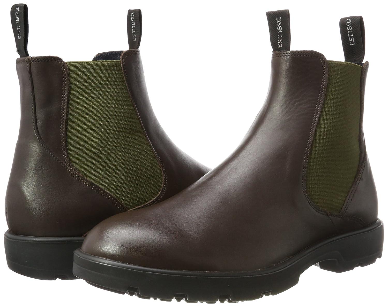 42 Braun Homme Burton Bottes dk Eu Chelsea Sacs Et Chaussures brown KclF1TJ3