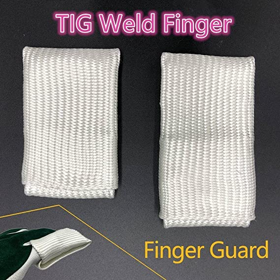 TIG Finger, Welding Tips/Tricks, TIG Finger Heat Shield, Welding Gloves Heat Shield Finger Guards (Large) - - Amazon.com