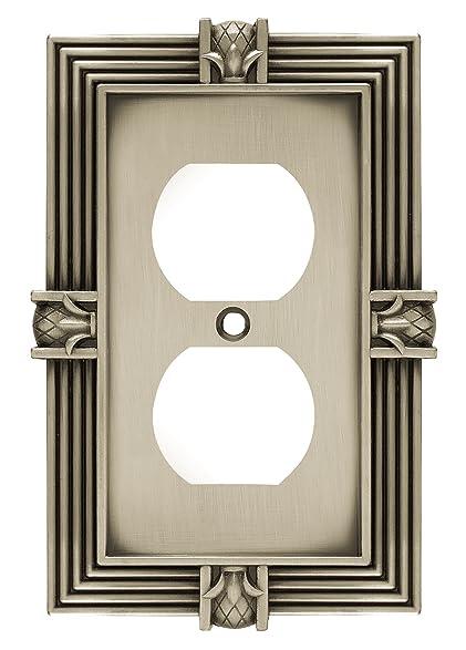 Franklin Brass 64462 Pineapple Single Duplex Outlet Wall Plate ...