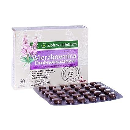 EPILOBIO PARVIFLORUM (SMALLFLOWER WILLOWHERB) 680 mg Apoya el buen funcionamiento de la próstata y