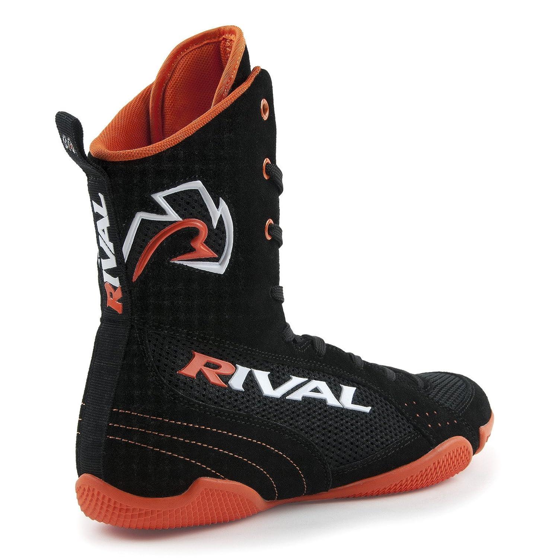 RIVAL RSX-ONE CLASSIC HI-TOP BOXING BOOTS BLACK