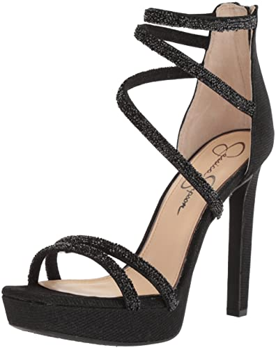 cb1dbebe7ca Amazon.com  Jessica Simpson Women s Beyonah Heeled Sandal  Shoes