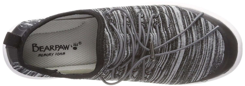 Bearpaw (schwarz Damen Irene Sneaker, Schwarz (schwarz Bearpaw Knit Mix 011) 9dc5ab