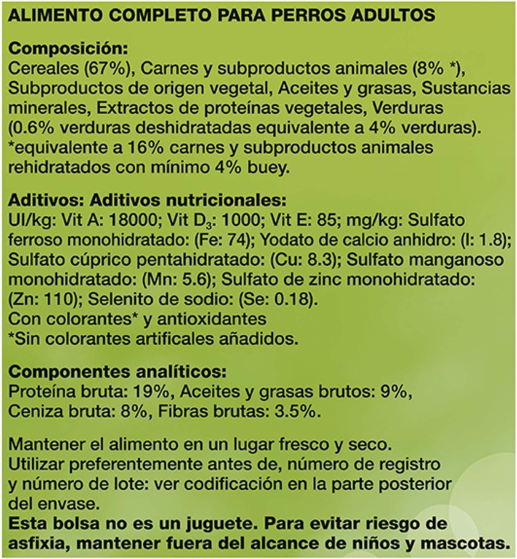 Friskies Adulto Alimento para Perros Seco con Carnes, 3kg
