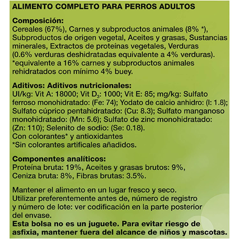 Friskies Adulto Alimento para Perros, Seco, con Carnes, Cereales Y Verduras Añadidas - 3 Kg: Amazon.es: Amazon Pantry