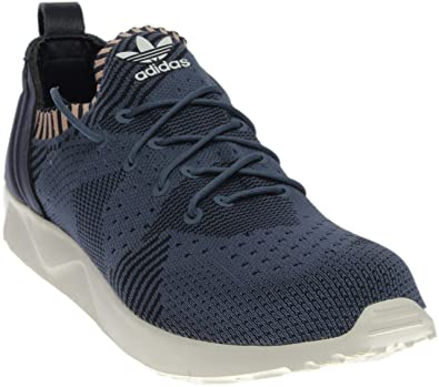06fcdf177 adidas Womens ZX Flux Adv Virtue Pk Athletic   Sneakers Blue