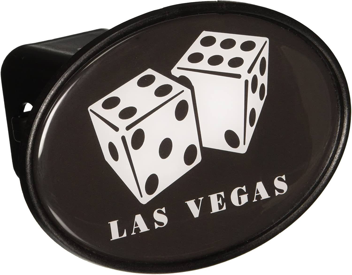 Knockout LV109 Las Vegas Image of Dice Hitch Cover