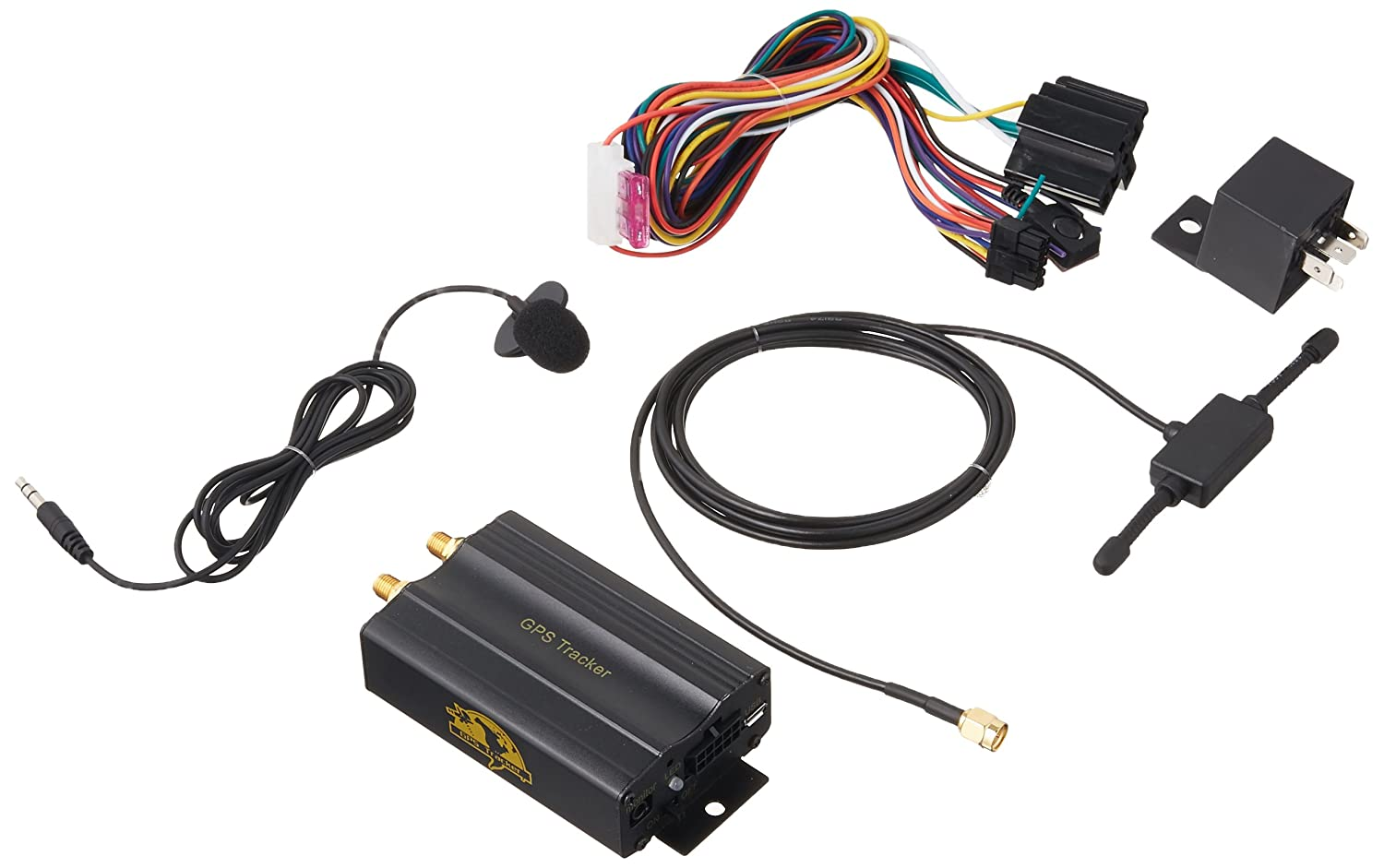 81IB6jbNQmL._SL1500_ amazon com coban gps gprs sms real time tracker tk103a quad band Wiring Harness Diagram at mifinder.co