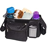 Bubclub's Baby Stroller Organizer Lightweight Bag w/Insulated Cup Holders