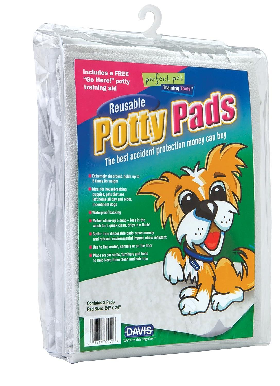Davis Reusable Potty Pads for Pets, 24 x 24