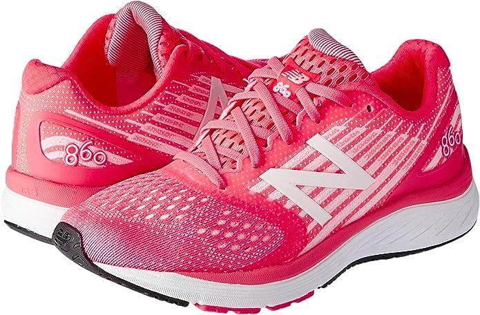 New Balance 860v9, Zapatillas para Correr para Niñas, Guava Sunrise GLO, 36 2/3 EU: Amazon.es: Zapatos y complementos