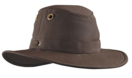 c4f69d31f57 Tilley Unisex TH4 Classic Hemp with Broader Down-Sloping Brim Hat