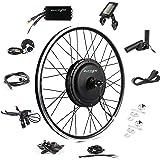 "EBIKELING 48V 1200W 26"" Direct Drive Waterproof Electric Bike Kit - Ebike Conversion Kit - Electric Bike Conversion Kit (Fron"