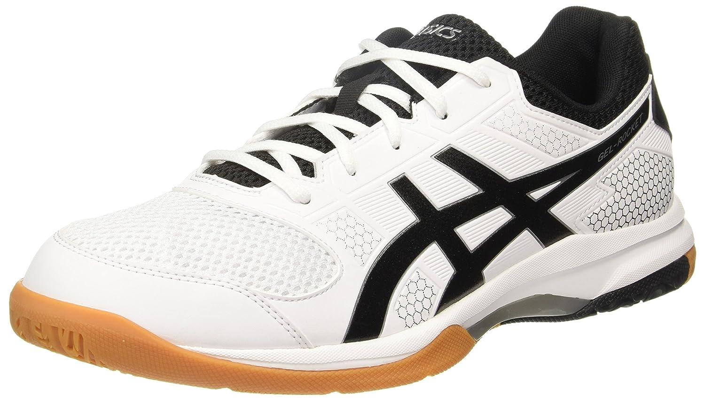 Gel-Rocket 8 White Badminton Shoes