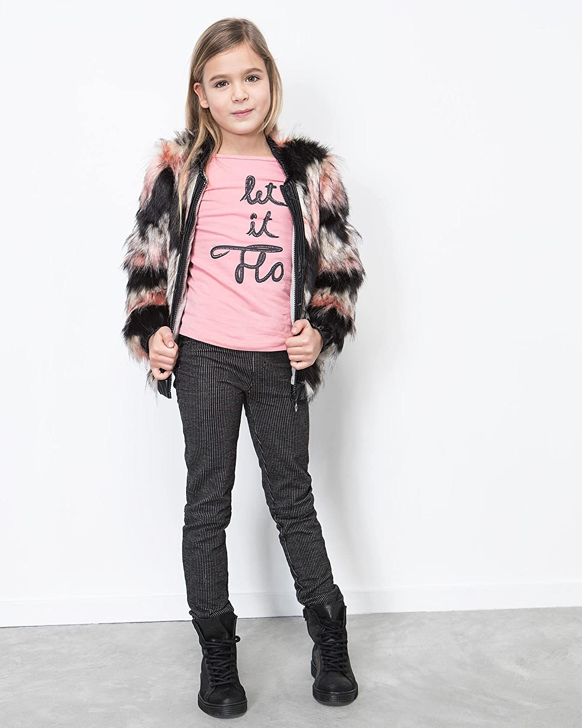 Sizes 6-14 Dress Like Flo Girls Striped Skinny Pants