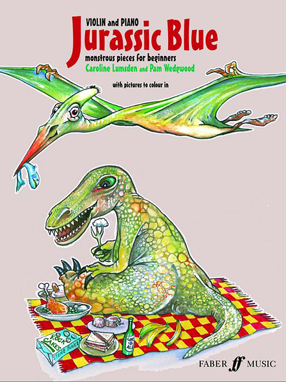 Download Jurassic Blue for Violin: Monstrous Pieces for Beginners (Faber Edition) PDF