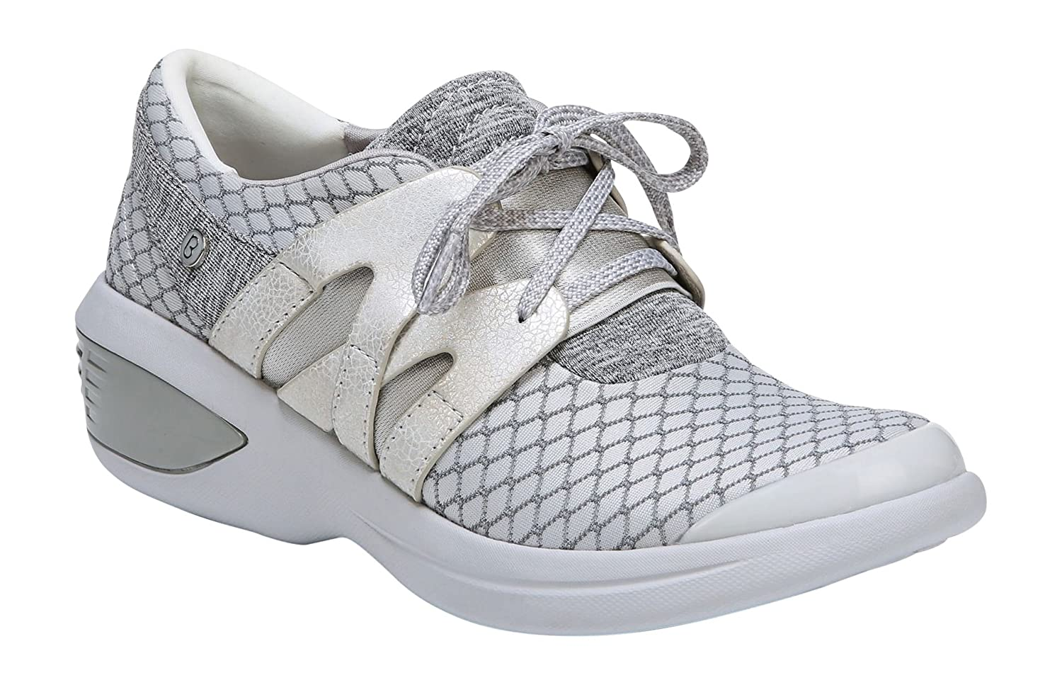 BZees Women's Flicker Sneaker B076C4W45C 9.5 B(M) US|Grey