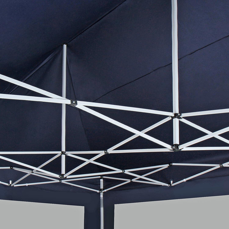 Color a Elegir Pabell/ón Gazebo Cenador Tienda Fiestas Beige con Protecci/ón Solar Plegable Ideal para Fiestas en el Jard/ín Carpa/con Paredes/3x6 m