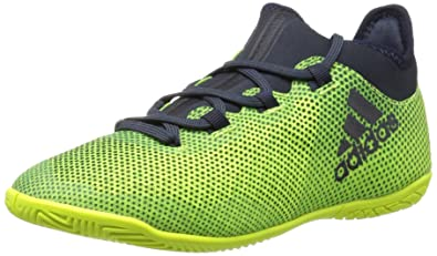ed7100912 adidas Boys' X Tango 17.3 in J Soccer Shoe, Legend Ink/Solar Yellow