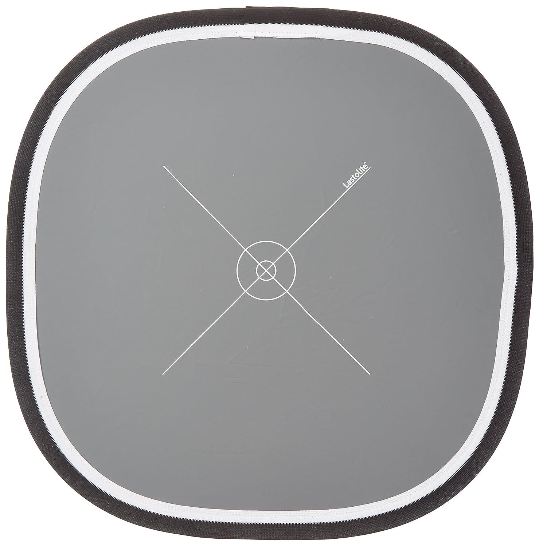 Grey//White Lastolite LL LR2050 20-Inch Ezybalance Card