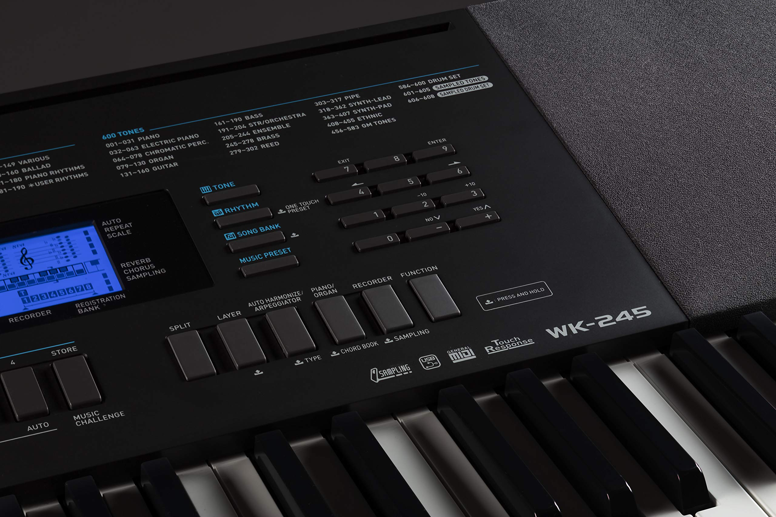 Features Of Casio WK 245
