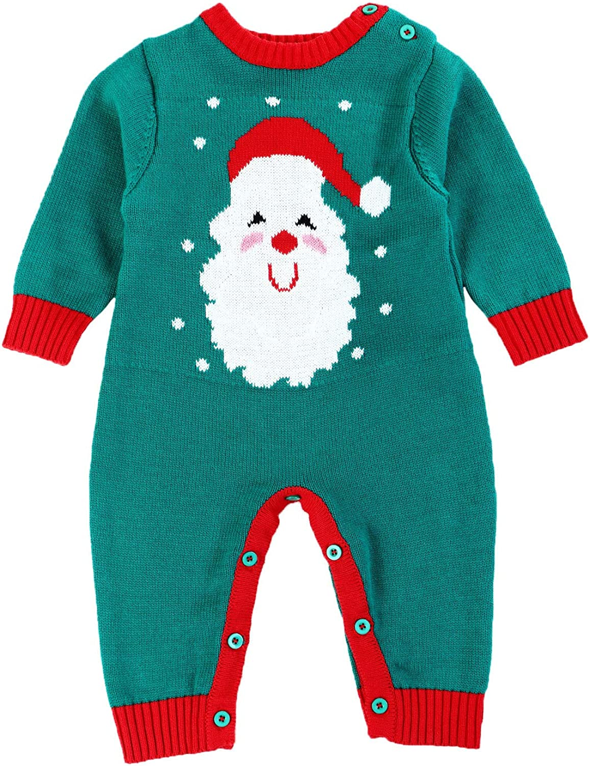 Baby Sweater Kids Christmas Outfits for Boys and Girls