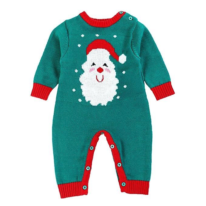 Amazon.com: Bebé suéter niños trajes de Navidad para niños y ...