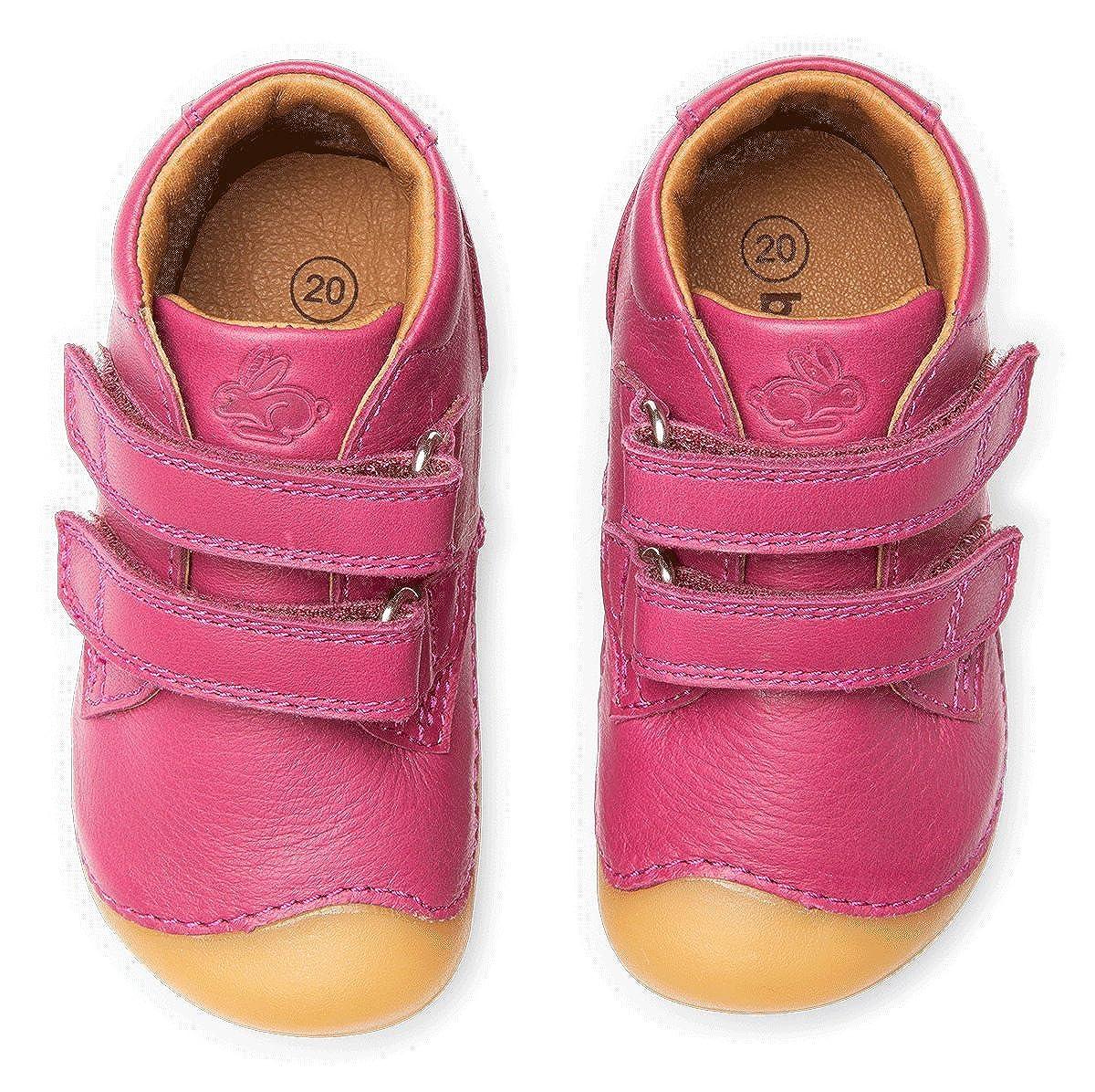 5055a65e1d ... Lauflernschuhe, Kinderschuhe für Mädchen und Jungen (Petit Velcro)  BG101068 Brown ...