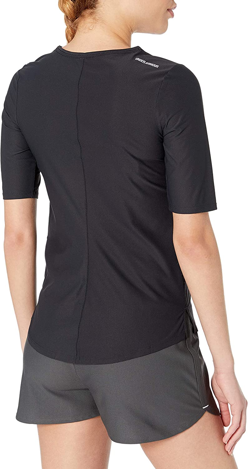 Under Armour Womens Coolswitch 3//4 Half Sleeve Tee