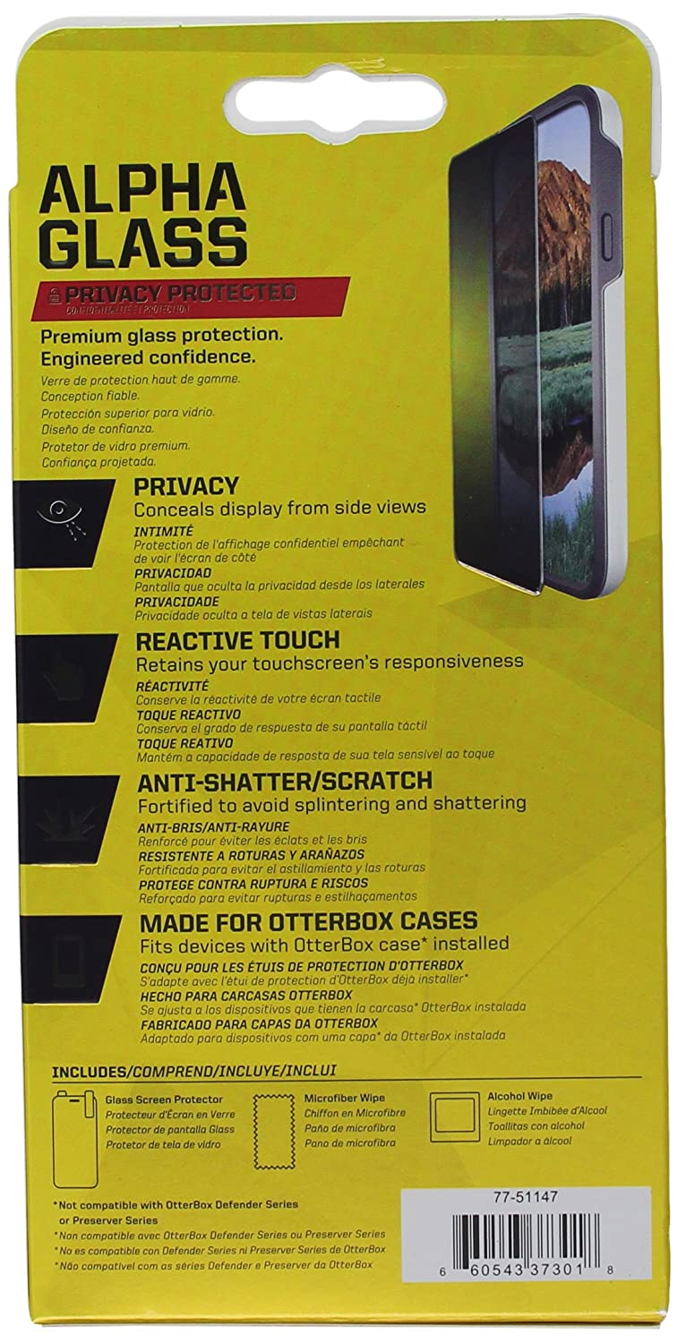 Amazon.com: OtterBox CLEARLY PROTECTED ALPHA GLASS for Samsung Galaxy S6: Cell Phones & Accessories