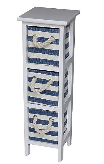 Maritime Kommode maritime kommode im shabby chic stil blau wei szlig er schrank