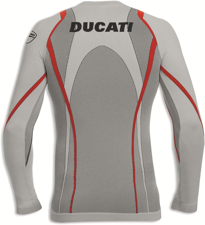 Ducati 98104001 Funktionsshirt Racing Unterziehshirt langarm COOL DOWN nahtlos XS//S