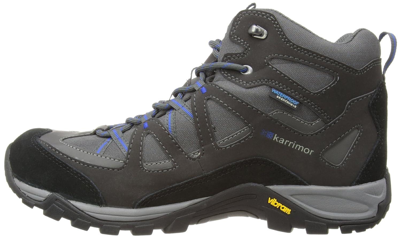 Karrimor Solva Mid Weathertite, Botas para Hombre, Black/Blue, 41 EU: Amazon.es: Zapatos y complementos