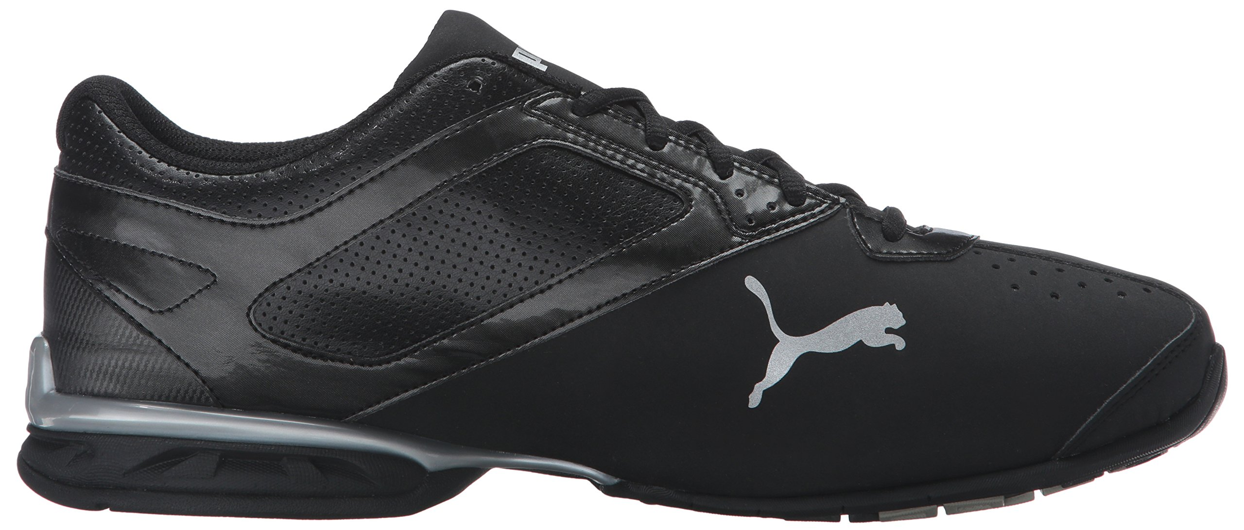 PUMA Men's Tazon 6 FM Puma Black/ Puma Silver Running Shoe - 8 D(M) US by PUMA (Image #7)
