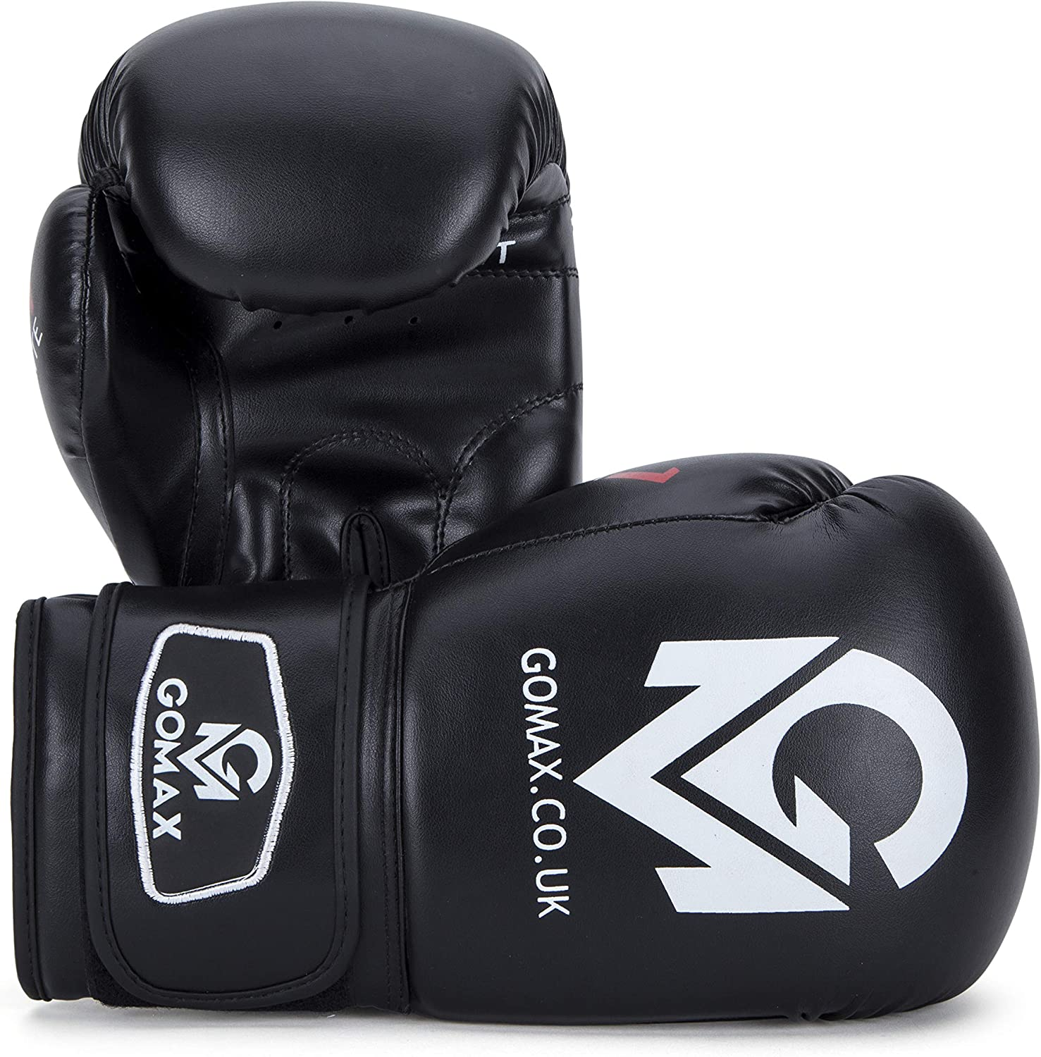 16 oz Boxing Gloves for Training Punching Sparring Punching Bag Boxing Bag Gloves Punch Bag Mitts Muay Thai Kickboxing MMA Martial Arts Workout Gloves 12 8 10 GoMax Leather Boxing Gloves 6 14