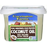Carrington Farms Organic Extra Virgin Coconut Oil, 12 Ounce (2)