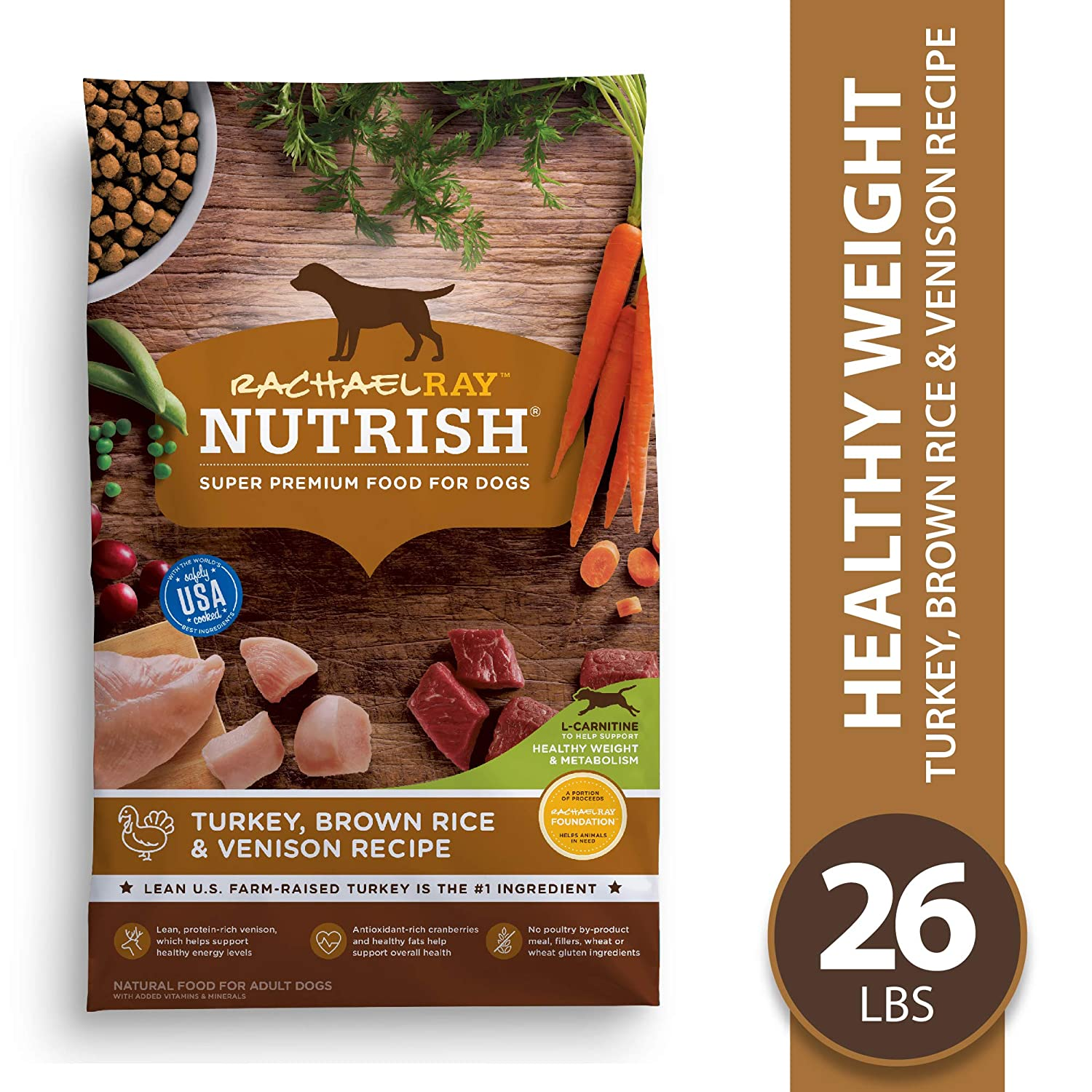 2.Rachael Ray Nutrish Super Premium Dry Dog Food