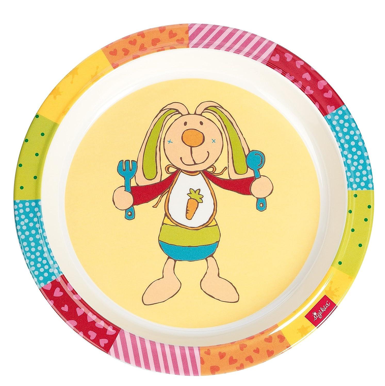 21,5/x 21,5/x 2,5/cm Sigikid Bungee Bunny Teller aus Melamin
