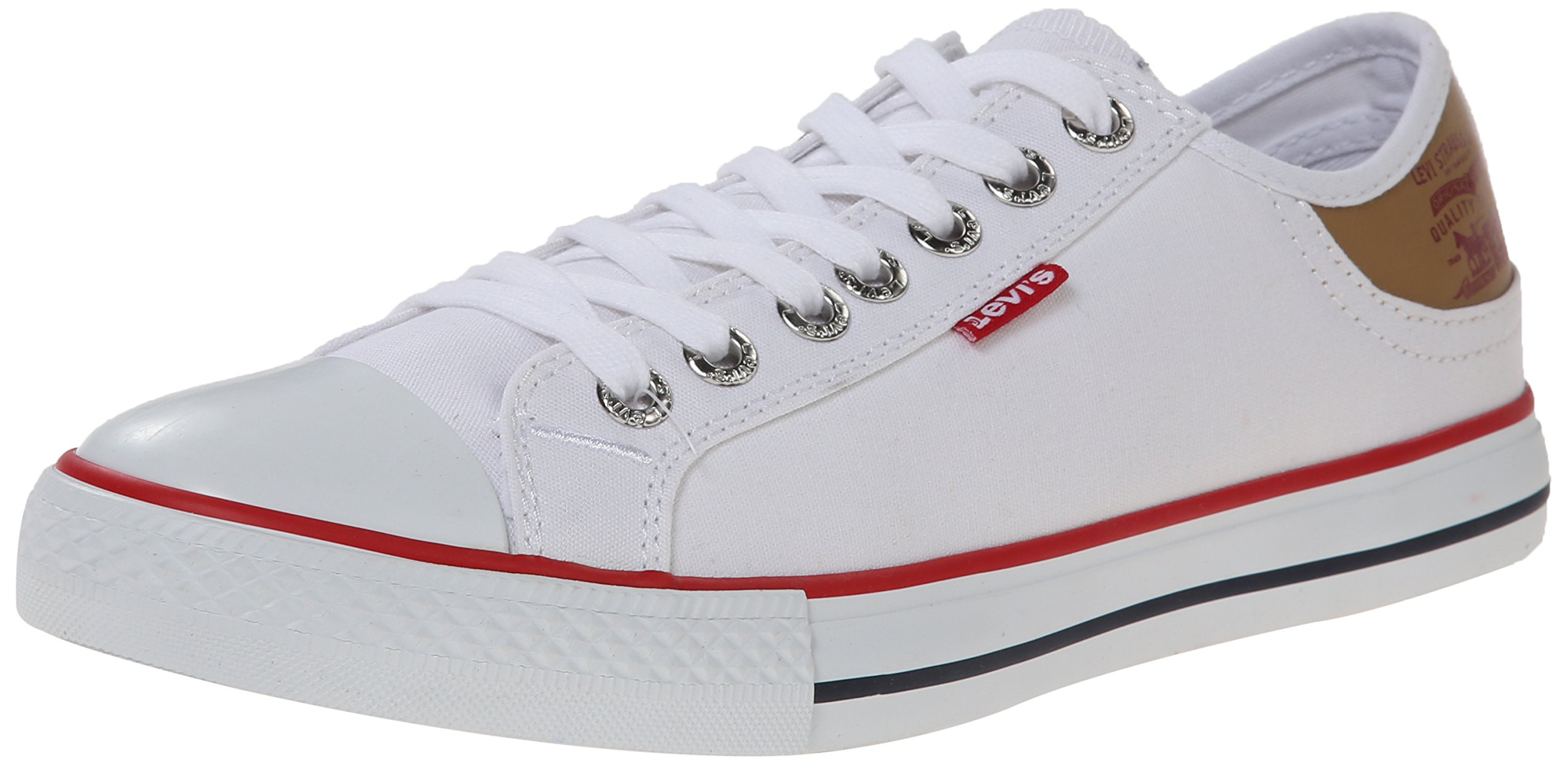 Levis Black And White Shoes