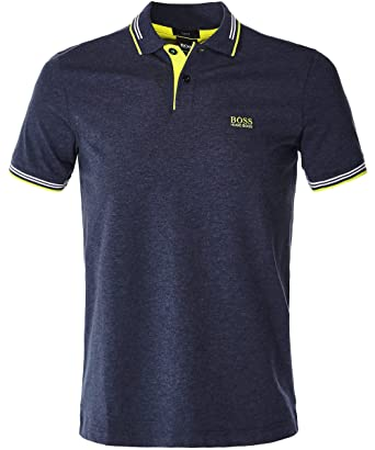 161bf40a8 Image Unavailable. Image not available for. Color: BOSS Men's Slim Fit Paul  Polo Shirt XXXL Navy
