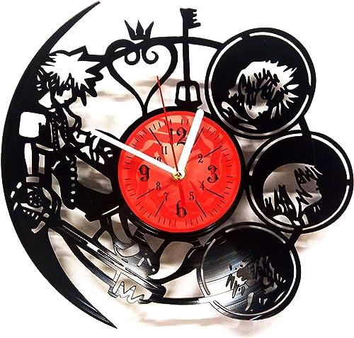 Kingdom Hearts Handmade Vinyl Record Wall Clock