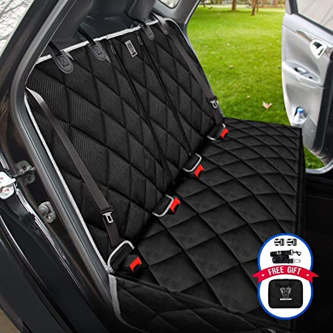 Phenomenal Dog Seat Cover For Back Seat 100 Waterproof Nonslip Bench Seat Cover Compatible For Middle Seat Belt And Armrest Strong Durable Multiuse Fits Ibusinesslaw Wood Chair Design Ideas Ibusinesslaworg